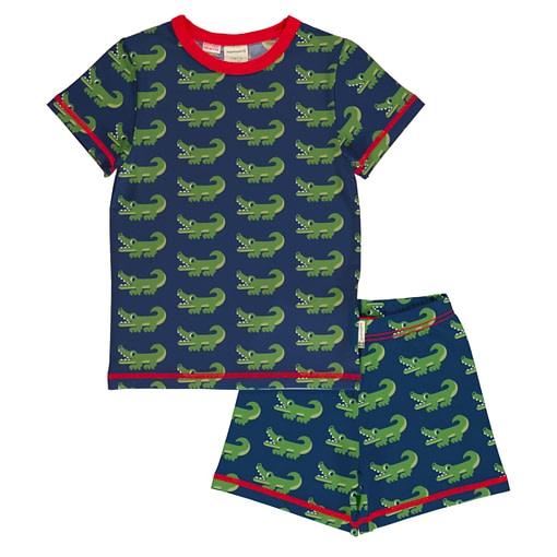 Maxomorra summer pyjamas crocodile