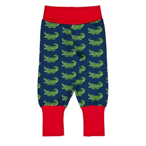 Maxomorra rib pants crocodile