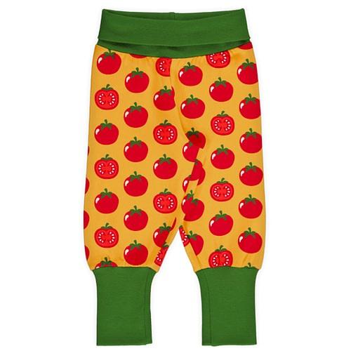 Maxomorra tomato rib pants