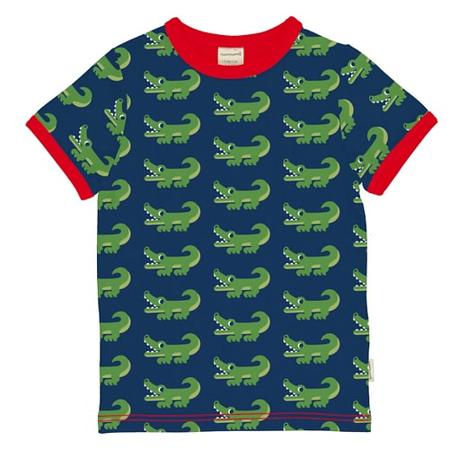 Maxomorra t-shirt crocodile