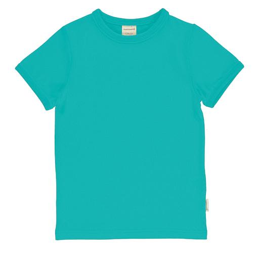 Maxomorra t-shirt aqua blue