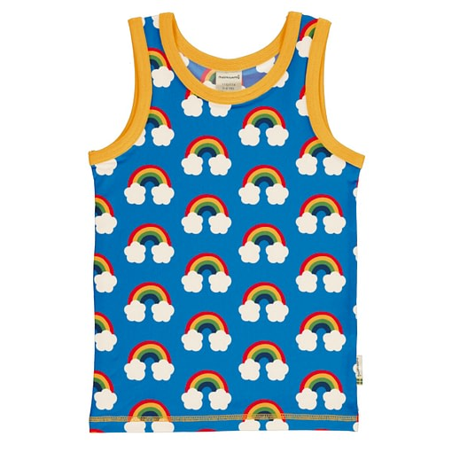Maxomorra sleeveless vest rainbow