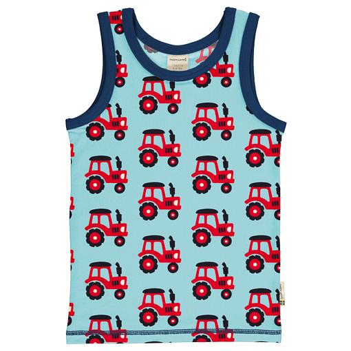 Maxomorra sleeveless vest tractor