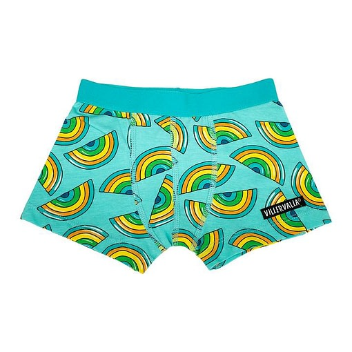 Villervalla boxer shorts organic cotton rainbow