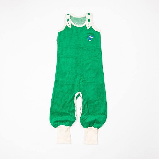 Alba Happy Crawlers Jelly Bean Green Frotte