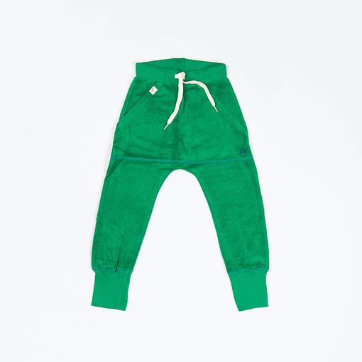 Alba of Denmark Mason pants Jelly Bean green frotte