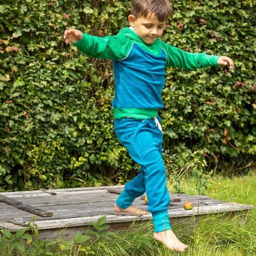 Alba of Denmark Mason Pants Turkish Tile Frotte Terry