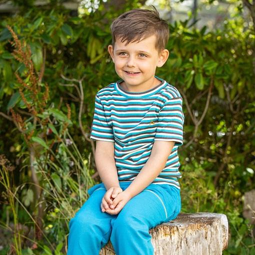 Alba of Denmark Algiers blue stripes Bell t-shirt
