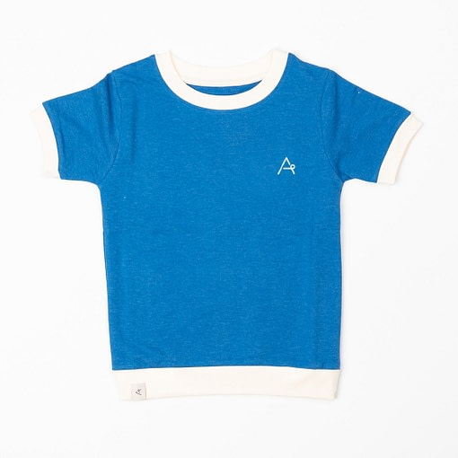 Alba of Denmark vesta t-shirt snorkel blue