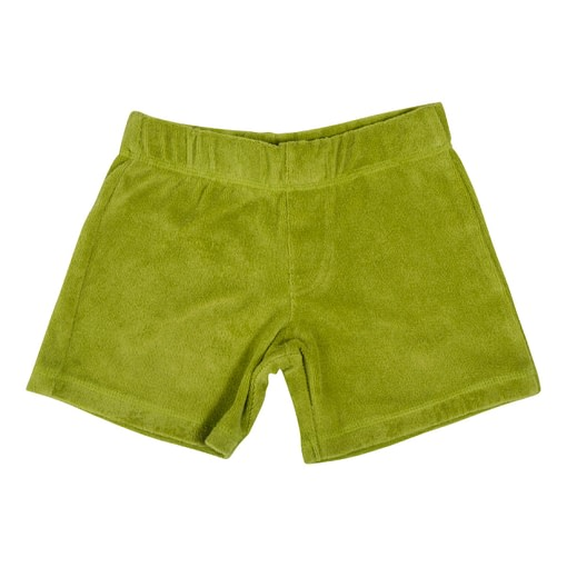 DUNS Sweden shorts terry cotton spinach green