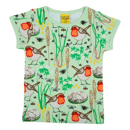 DUNS Sweden t-shirt green robin