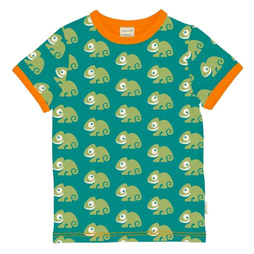 Maxomorra t-shirt chameleon