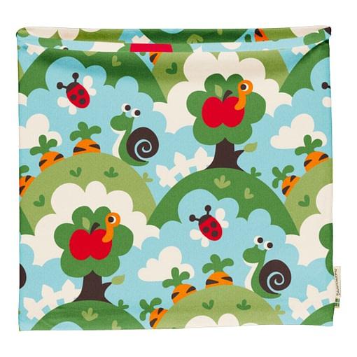 Maxomorra garden organic cotton tube scarf 1