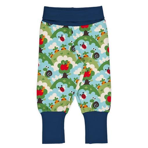 Maxomorra rib pants garden