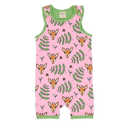 Meyadey short dungarees giraffe