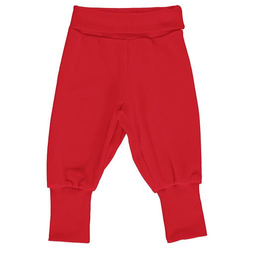 Maxomorra velour ruby rib pants