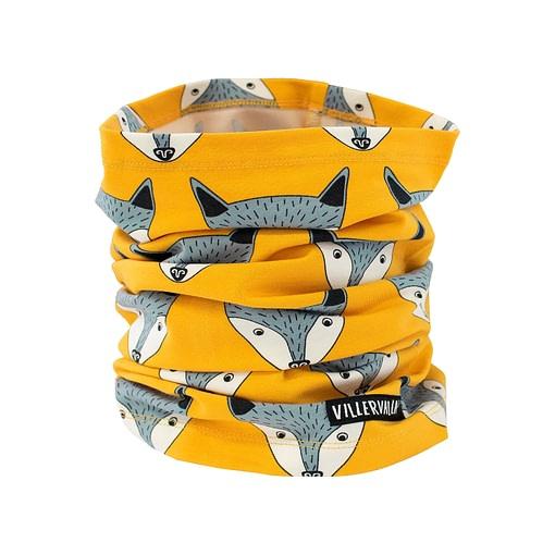 Villervalla neck scarf saffron fox