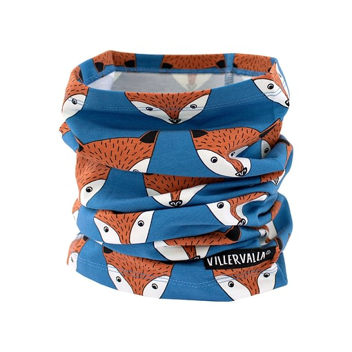 Villervalla neck scarf mid marine fox