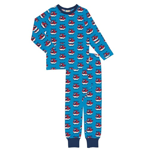 Maxomorra pyjamas helicopter