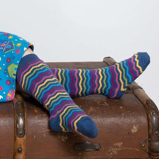 Kite striped cosy socks