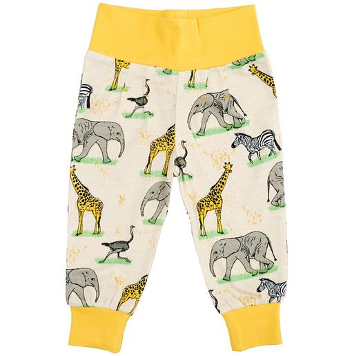 DUNS Sweden baby trousers - Savannah unisex print