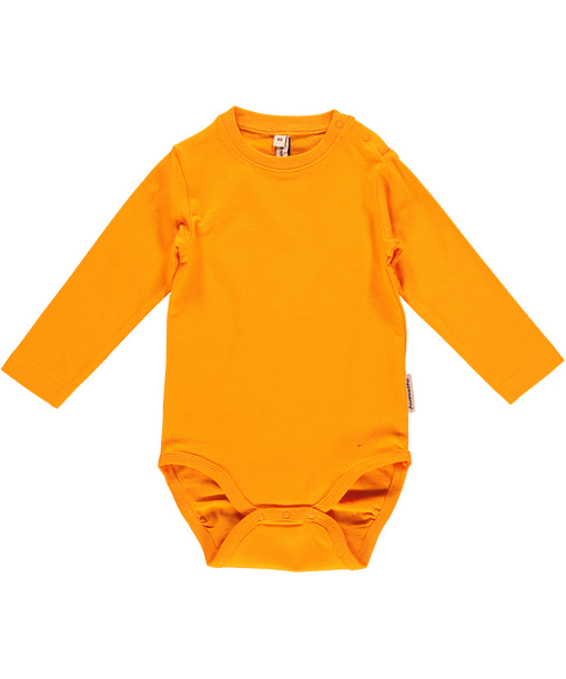 Carrot playsuit dungarees by Maxomorra in organic cotton (4-6 m) 3