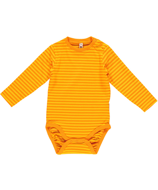 Carrot playsuit dungarees by Maxomorra in organic cotton (4-6 m) 2
