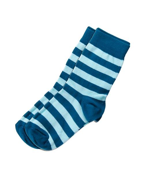 Maxomorra organic cotton unisex baby and toddler stripey socks - 2 packs 1