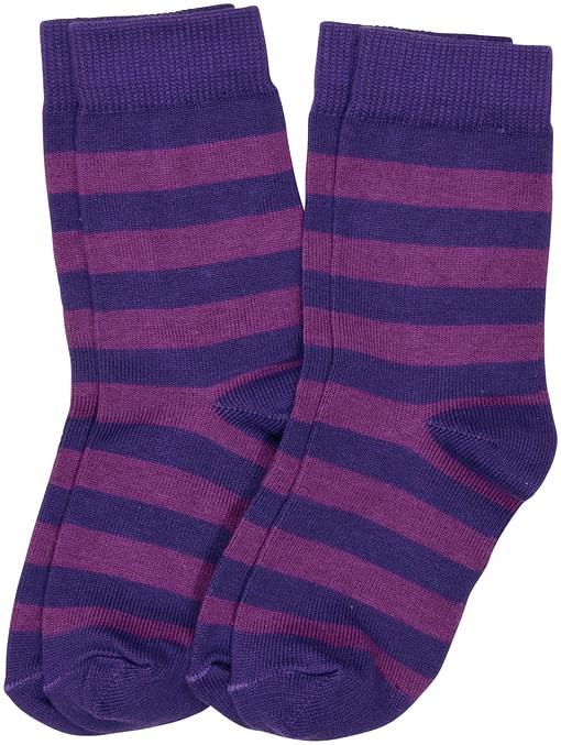 Maxomorra striped organic cotton unisex socks for children - 2 packs 4