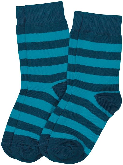 Maxomorra striped organic cotton unisex socks for children - 2 packs 3