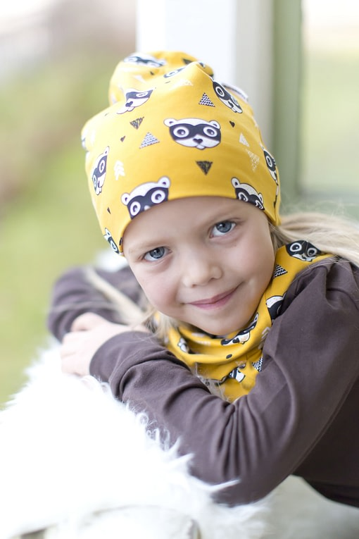 Bandit organic cotton tube scarf from Maxomorra 3