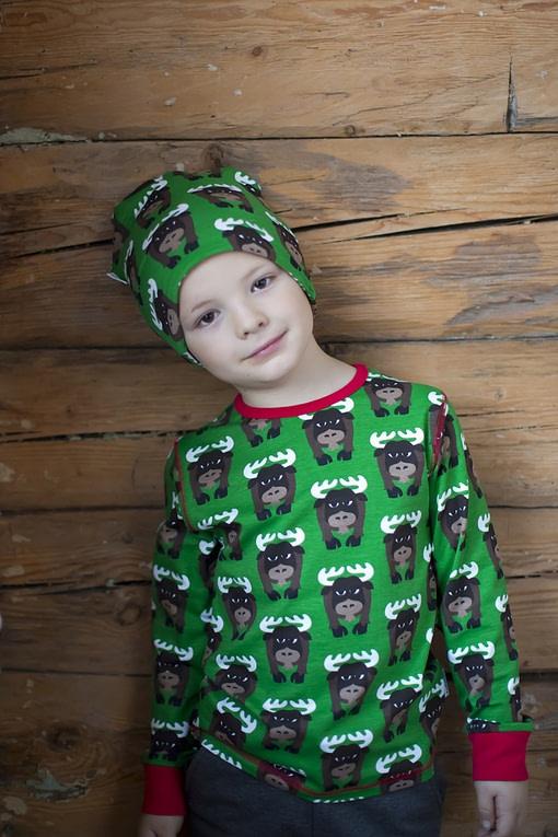 Skunk organic cotton beanie hat from Maxomorra (48/50) 3