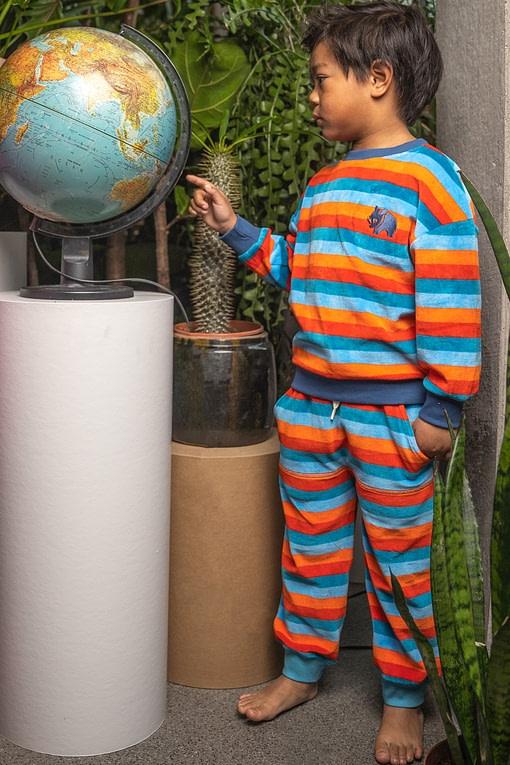 Alba Kristoffer velour trousers