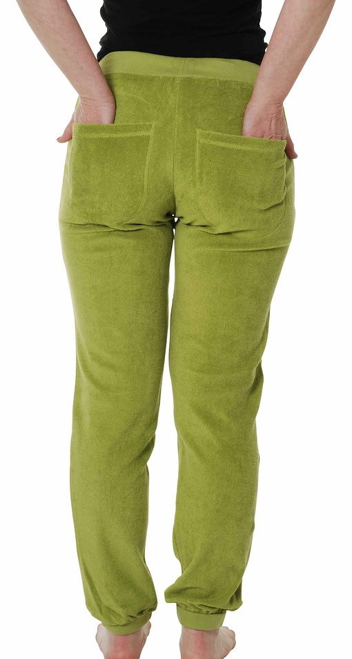 DUNS Sweden terry trousers ladies